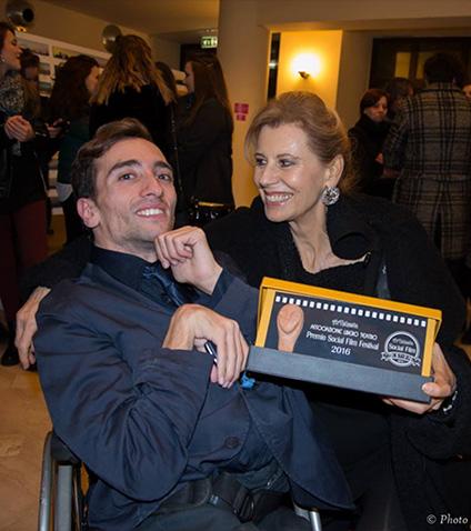 Francesco Tomasiello e Daniela Poggi