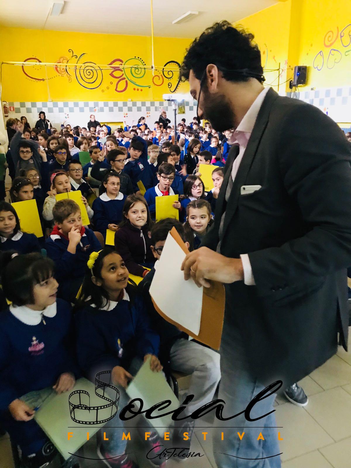 Social Film Festival Artelesia - Matines nelle scuole