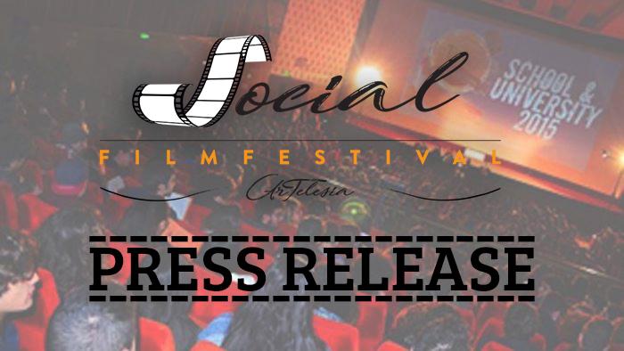 Social Film Festival Artelesia - Comunicato Stampa