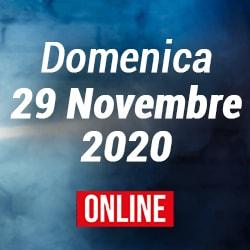 Domenica 29 Novembre 2020