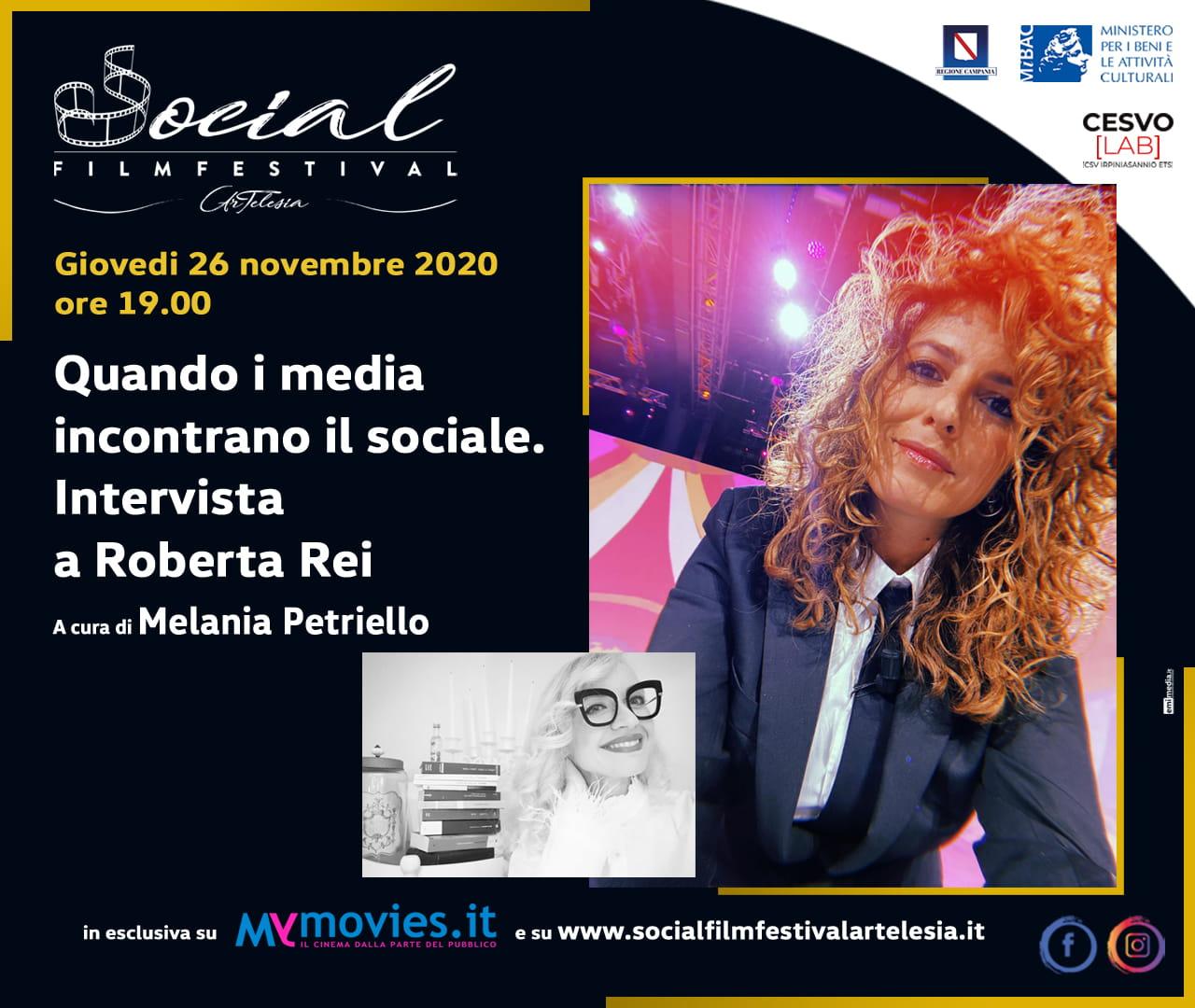 """""""Quando i media incontrano il sociale"""": intervista a Roberta Rei"""