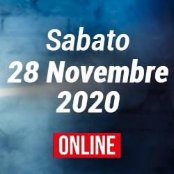 Sabato 28 Novembre 2020